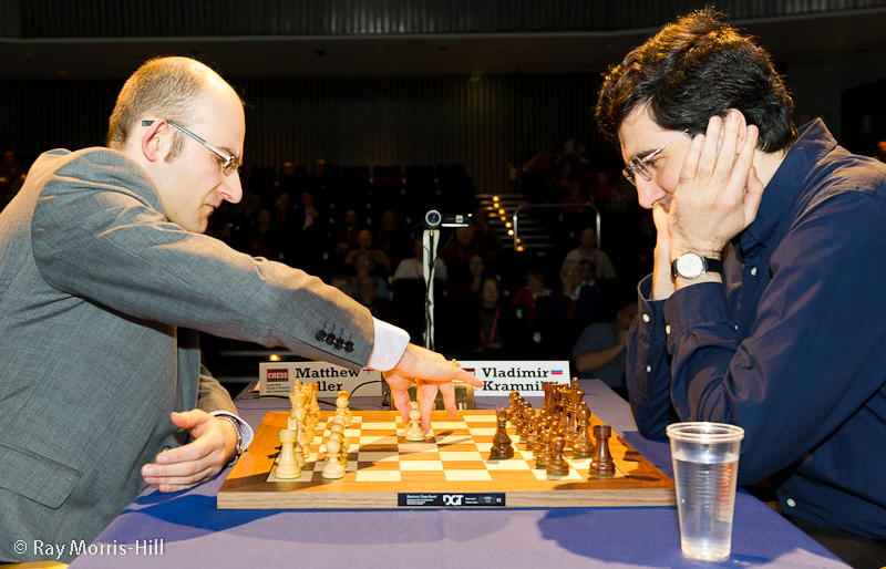 London Chess Classic 2013 Sadler-Kramnik